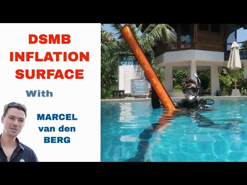 PADI DSMB Inflation Surface IDC Divemaster Skill Circuit Surface Marker