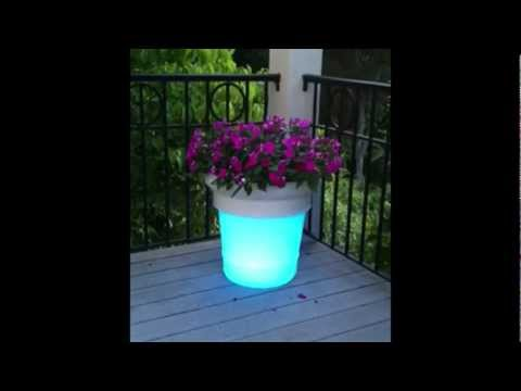 Patio Living Concepts - LED Garden Glo Planters
