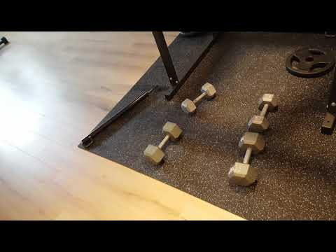 Home Gym,  You Can Do it with Dumbbells