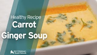 Creamy Carrot Ginger Soup Recipe