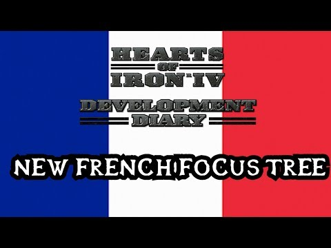 New French Focus Tree - Hearts of Iron 4 DLC
