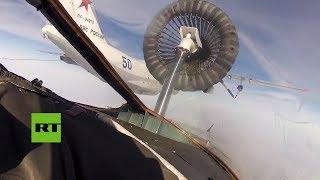 Pilotos de la Armada rusa logran por primera vez reabastecer en vuelo cazas polivalentes Su-30 SM