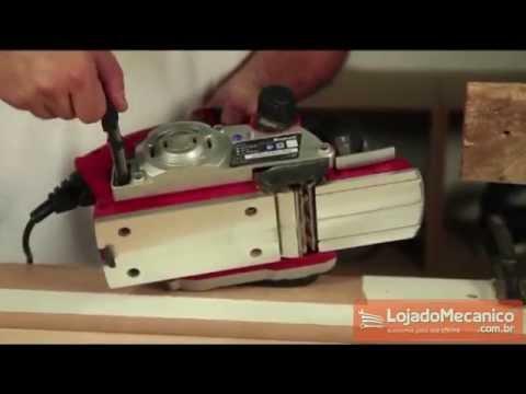 Plaina Elétrica - 850 W  - Video