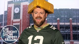 Jimmy Interviews the Guy Who Wouldn't Stop Wooing at Seahawks-Packers Game thumbnail