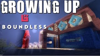 Boundless gameplay 4K Early access Ep 8: Growing up!