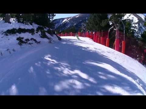 ESQUI VALLE DE NURIA 2013 CON SNOWBLADES SIN MUSICA
