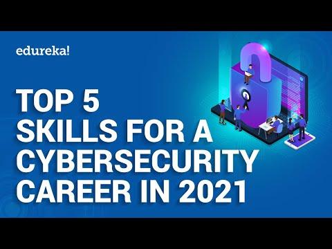 Top 5 Cybersecurity Skills In 2021 | Cybersecurity Training | Edureka