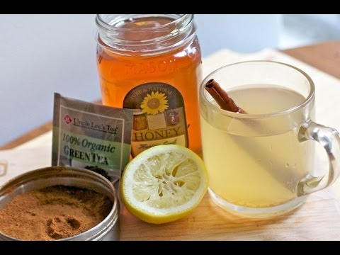 Hello Beautiful Green Tea – Complexion Drink Recipe