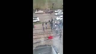 драка с полицией у мечети 14.09.12