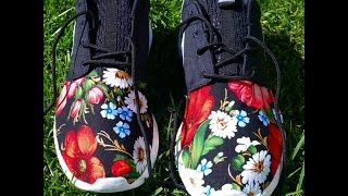 Awesome Custom Floral Nike Roshe