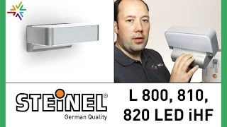 STEINEL L 800 LED iHF, L 810 LED iHF, L 820 LED iHF Sensor Up/Downlight [watt24-Video Nr. 74]