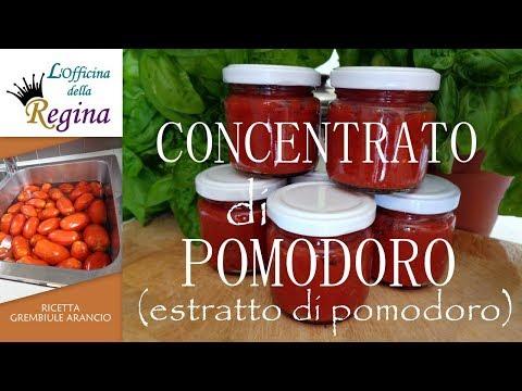 Concentrato di pomodoro (estratto di pomodoro) - Come farlo in casa senza il sole del Sud