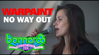Warpaint - 'No Way Out' (Live 2014)