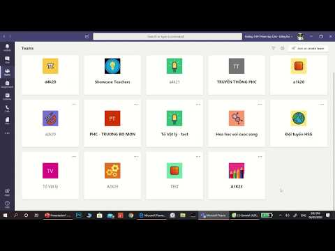 Toàn bộ Video hướng dẫn sử dụng Microsoft Teams (Dành cho giáo viên)