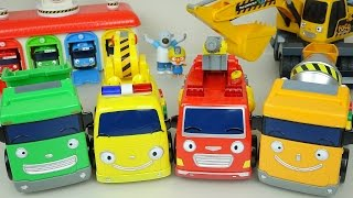 Tayo the little bus Heavy cars 꼬마버스 타요 뽀로로 중장비 장난감 놀이