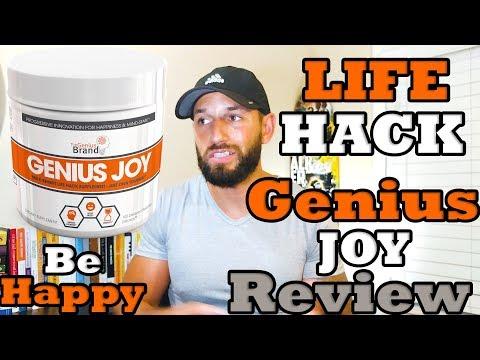 Life Hack Nootropic | Genius Joy | The Genius Brand  Supplement Review
