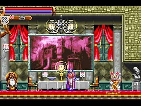 GBA Castlevania: Harmony of Dissonance