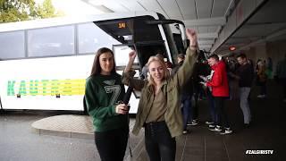 """Į pirmąjį Eurolygos mačą – sausakimši """"Žalgirio ekspreso"""" autobusai"""