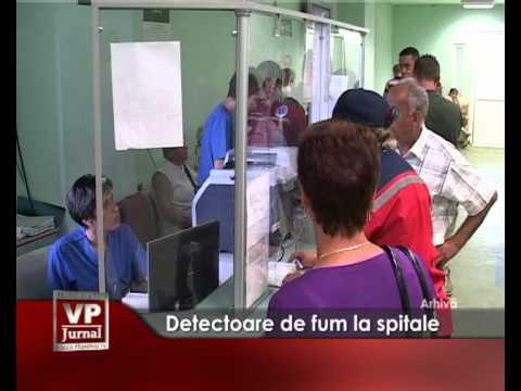 Detectoare de fum la spitale