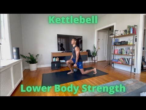 Workout video for Kettlebell Lower Body Strength