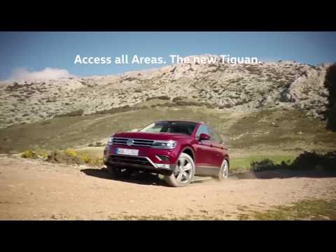 Volkswagen  Tiguan Паркетник класса J - рекламное видео 1