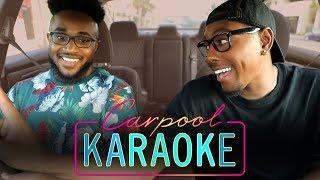 Carpool Karaoke   The FOUR's JeRonelle McGhee   80s RnB Vibez