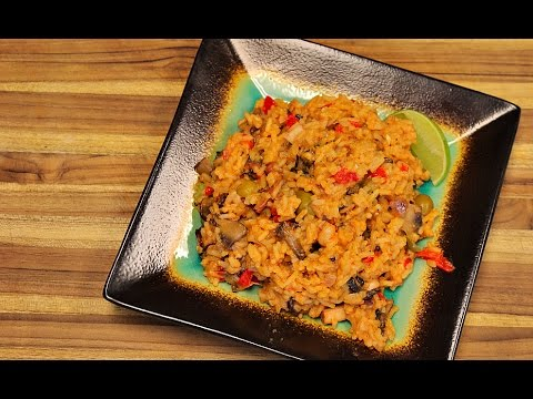 Seafood Rice - healthy recipe channel - rice bowl recipe - seafood recipe - paella - spanish food
