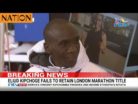 Eliud Kipchoge reveals why he was not able to retain London Marathon title