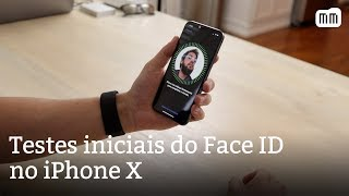 Testes iniciais do Face ID no iPhone X