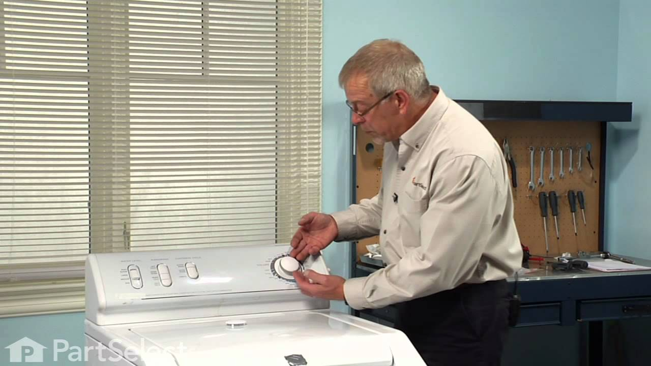 Replacing your Maytag Dryer Timer Knob Insert Cap