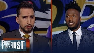 Ravens didn't show up vs Titans, 49ers are best team in playoffs— Flowers | NFL | FIRST THINGS FIRST