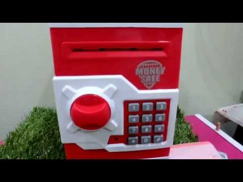 MONEY SAFE BOX Electronic Lock-chloelvs 电子存钱机