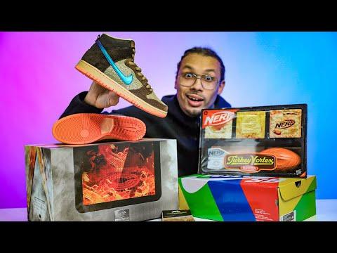 Nike SB Dunk High Mallard Turdunken Concepts QS Worth $700?