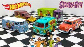 Opening Hot Wheels Scooby-Doo Vehicle Series!