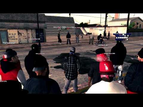 LSRP | Rollin' 20s Neighborhood Bloods - Hood brawling - игровое