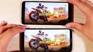 Honor Play Vs Xiaomi Mi A2 Speed Test and Pubg Comparison