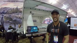 King Size Bed On The Roof Of Your Vehicle : Free Spirit Tents At SEMA 2019