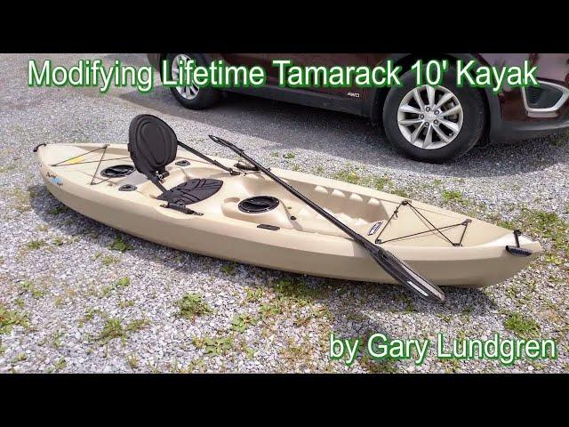 Lifetime Tamarack Angler Kayak Mods Ep.2017-02