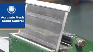 100% monofilament nylon mesh filter screen mesh youtube video