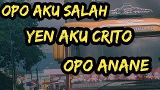 Descargar Sobat Ambyar Opo Aku Salah Yen Aku Crito Mp3 Gratis