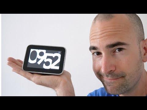 Lenovo Smart Clock   Unboxing, Setup & Review