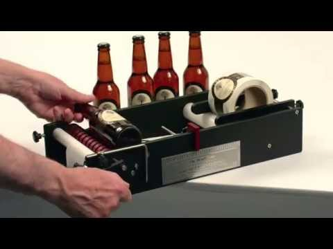 How can I label Beer bottles and what is the best Label Applicator - BenchMATE by Great Engineering BenchMATE