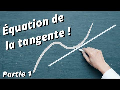 comment construire une tangente a une courbe