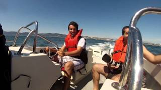 Power Boating in Marina del Rey
