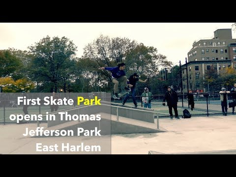 First Skate Park opens in Thomas Jefferson Park