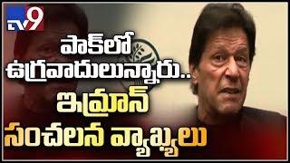 Imran Khan accepts that terror groups exist in Pakistan - TV9