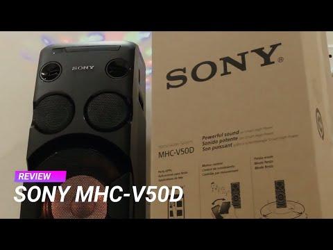 Sony MHC V50D review – जबरदस्त ऑडियो सिस्टम