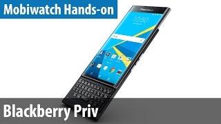Mit Android & Keyboard - Blackberry Priv im Mobiwatch Hands-on   deutsch / german