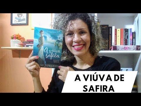 RESENHA | A VIÚVA DE SAFIRA| ANA CLAUDIA DE ANGELO