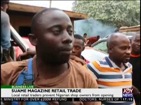 Suame Magazine Retail Trade - Business Live on JoyNews (15-8-18)
